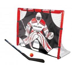 Kit Cage et Tutor Bauer Street Hockey