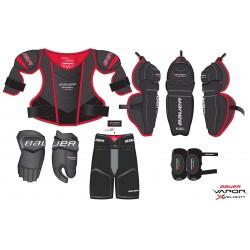 Kit complet de protection Bauer Vapor XVelocity pour enfant