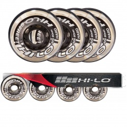 Roue Hi-Lo Street 82A - Pack 4 - Promoglace Roller
