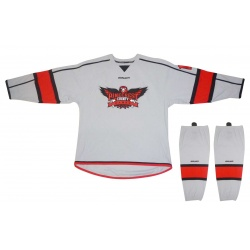 Maillot et Bas Bauer Hawks Pinecrest Grey - Promoglace Hockey