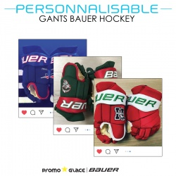Gants Bauer Hockey Personnalisable - Promoglace