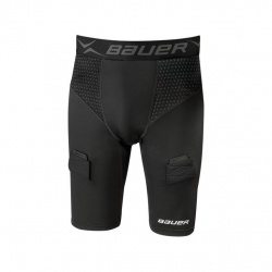 Short Bauer Compression avec coquille