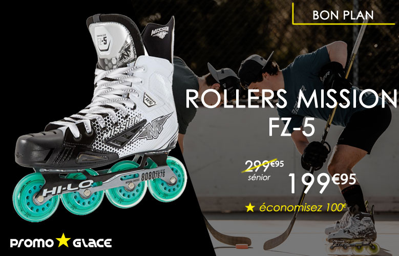 Rollers Mission FZ5 - Promoglace Roller