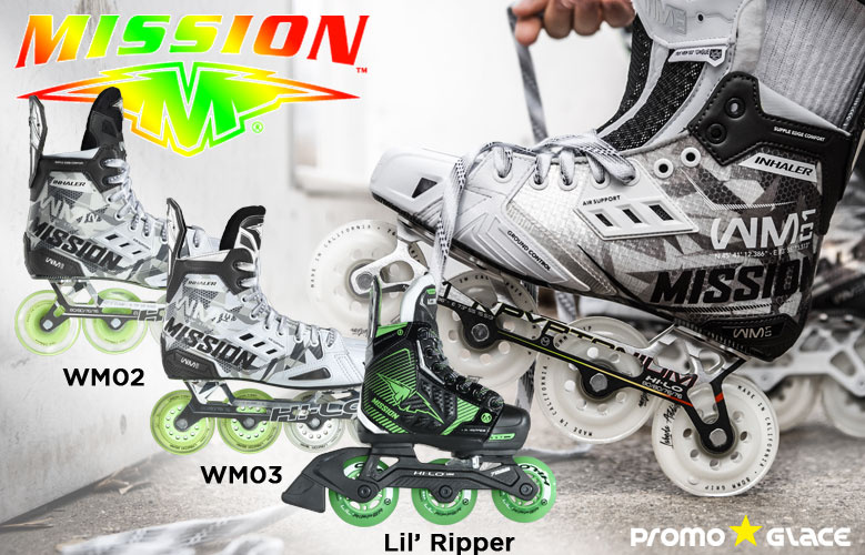 Rollers Mission WM01- Promoglace Roller