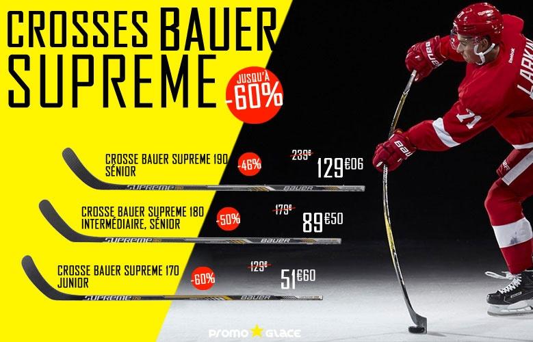Crosses Bauer Hockey Supreme en promotion - Promoglace Roller