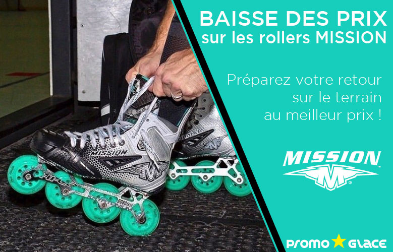 Rollers Mission promotions - Promoglace Roller