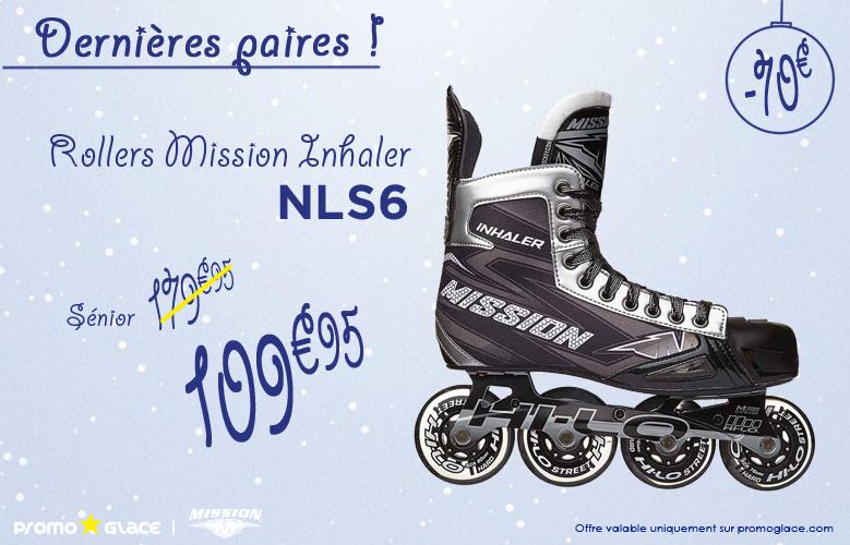 Rollers Mission iNHALER nls6 - Promoglace Roller