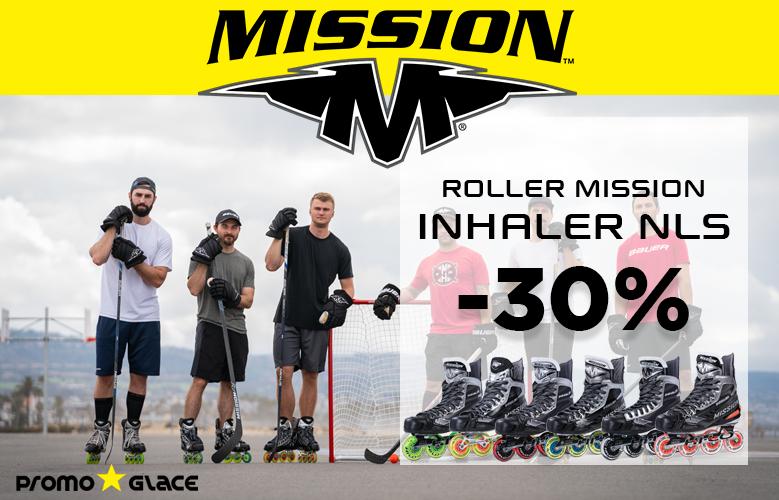 Promotion Roller Mission  Inhaler NLS - Promoglace Roller Hockey