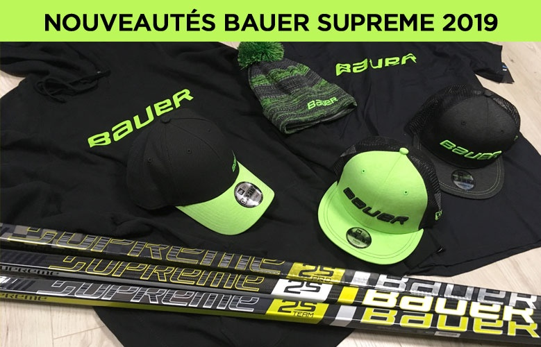Nouvelles crosses Bauer Hockey Supreme 2019 - Promoglace France