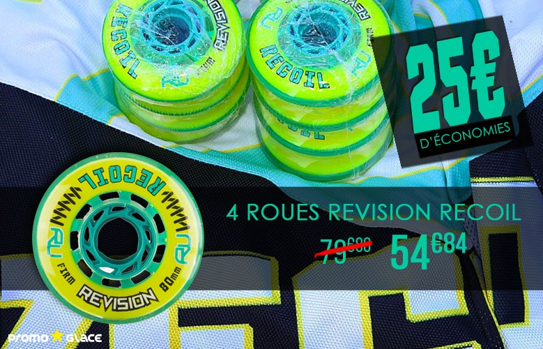 Roues Revision Recoil - Promoglace Roller