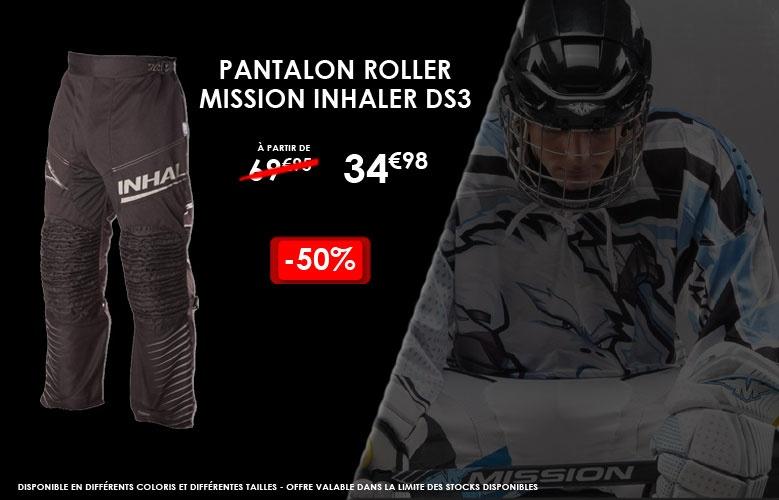 Pantalon Mission Inhaler DS3 - Promoglace Roller