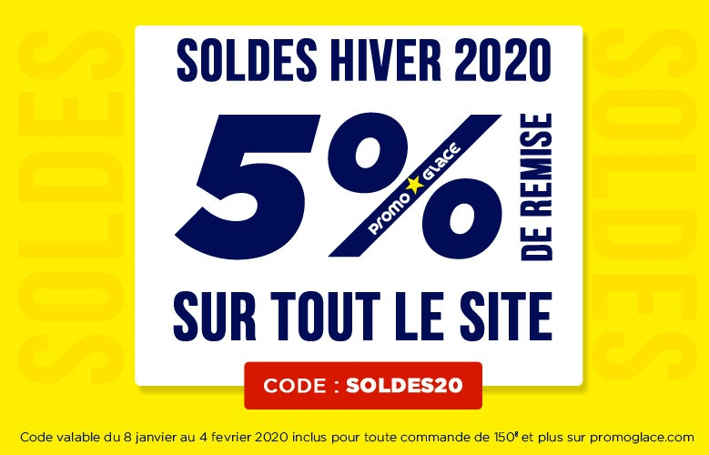 Soldes Hiver Promoglace 2020