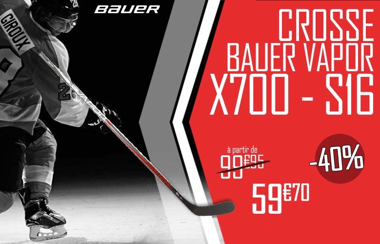 Crosse Bauer Vapor X700 2016 Promotion - Promoglace