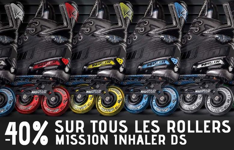 Promotion Rollers Mission Inhaler DS