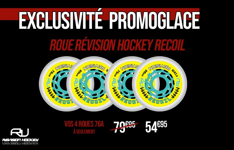 Roues Revision Hockey Recoil Promoglace