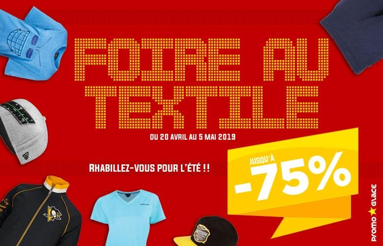 Foire au textile - Promoglace France